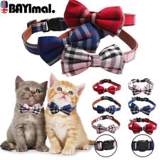 Adjustable Necklace Bow Tie Collars Dog Pet Puppy Cat Kitten Pet Accessories UK