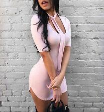 sexy à la mode pour femmes BANDEAU MOULANT soirée mini robe de cocktail