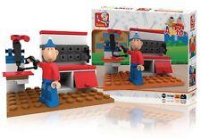 Sluban Building Blocks Pat & Mat Series At the Workbench M38-70128B