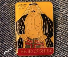 Wrestling Pin~The Iron Shiek~80's Vintage~WWF~World Wrestling Federation