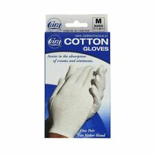 Cara Dermatological Cotton Gloves Medium each by Cara