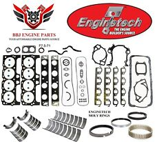 Ford 460 7.5 1992 - 1994 Enginetech Rering Rebuild Kit With Main Bearings
