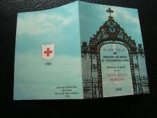 FRANCIA - carnet cruz roja 1968 (sello n ) (cy30) stamp french
