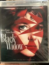 Black Widow Blu-ray Twilight Time Limited Ed. 3000 Only Brand New Factory Sealed