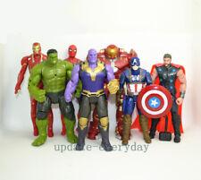 "7 pcs Marvel 7"" Action Figure Toy Avengers: Infinity War Thanos Thor Iron Man"