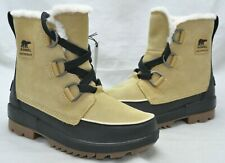 Sorel 'Tivoli IV' Women's Beige Suede Waterproof Hiker Boot Size 8 M