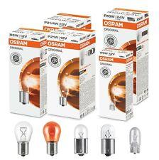 10x OSRAM 12V 24V R5W R10W P21W W5W Sidelight Indicator Fog Brake Light Bulbs