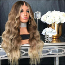9A Remy Human Hair Wigs Balayage Blonde Lace Front Ombre Full Lace Wig Baby Hair