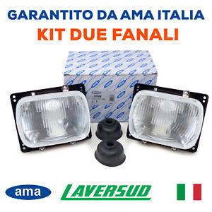 Kit Coppia Fanali Fari Proiettori per Trattore Fiat New Holland Rif. 5138349