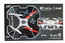 S48 RADIO CONTROL QUADCOPTER DRONE 360 DEGREES AIRCRAFT 6-AXIS 2.4GHz 6 CHANNEL