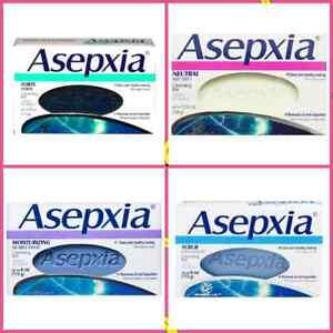 Asepxia Cleansing Bar Soap, 4.0 OZ, Jabon Limpiador Facial  113 GR