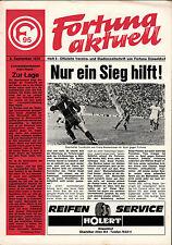 BL 75/76 Fortuna Düsseldorf - Hertha BSC, 06.09.1975