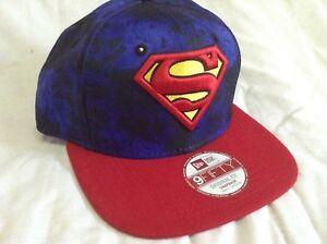 New era 9fifty superman cap small/medium SnapBack with adjustable strap brandnew