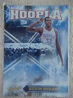 KEVIN DURANT 2010-11 ABSOLUTE MEMORABELIA HOOPLA CARD #14 325/399