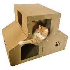 Cardoard Cat Penthouse
