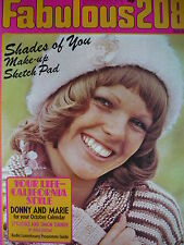 FAB 208 MAGAZINE 5TH OCT 1974 - OSMONDS - DONNY & MARIE OSMOND