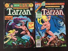 Tarzan  (Giant) #238 Tarzan (King Size Annual) #1 (2)Comics