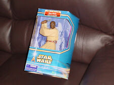 STAR WARS ACTION FIGURE * 2002 * TEN INCH * MACE WINDU * AS NEW IN BOX * HASBRO
