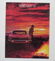 1970 Ford Maverick Brochure