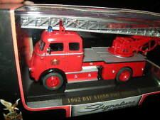 1:43 Yat Ming DAF A1600 Fire Engine 1962 Feuerwehr OVP