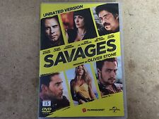 * NEW DVD Film * SAVAGES * DVD Movie *