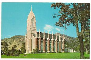 Brigham City LDS/Mormon Tabernacle, Utah, Desert Book, Unused Vintage Postcard