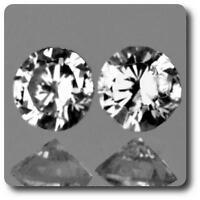 DIAMANT BLANC (F-G) . 0.03 cts. 2 pièces. VS. Afrique