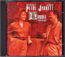Michala PETRI & Keith JARRETT HANDEL Recorder Sonata CD Blockflöte Harpsichord