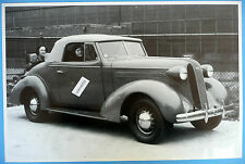 """1936 Pontiac Convertible Top Up With Rumble Seat 12 X 18"""" Black & White Picture"""