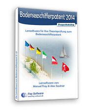 Lernsoftware Bodensee, Schifferpatent A / D / Hochrhein # Software Frey Boot BSP