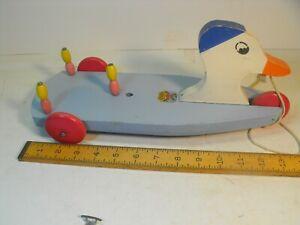 Rare larger Hustler San Duck beach toy. excellent cond.