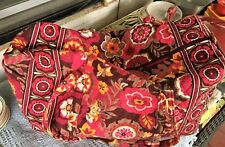 VERA BRADLEY DUFFEL Getaway Travel Gym Bag Carry On Colorful Floral