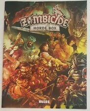 Rulebook -Zombicide Horde Box Rules -COMBINE SHIPPING -Helpful to have an extra.