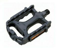"""PAIR of Polymer Bicycle Pedals - 9/16"""" - 280 grams - Brand New! - Standard Fit"""