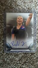 2018 UFC Knockout Rose Namajunas On Card Autograph #/199