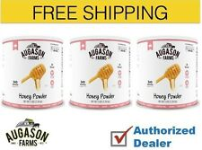 Augason Farms Emergency Food Honey Powder Survival Food Storage 3 Cans,Free Ship