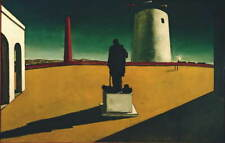 Giorgio De Chirico The Enigma Poster Reproduction Paintings Giclee Canvas Print