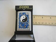 Rare ZIPPO Lighter:TAI CHI(太极),MOON, SUN(阴陽-阳),Brand New In Box,Free Ship In USA