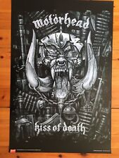 Motorhead,Kiss Of Death, Authentic Licensed To Bravado 2007 Poster