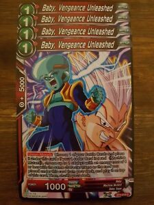 4x Baby, Vengeance Unleashed - Dragon Ball Super Card Game