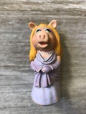 RARE Henson Assoc Inc. Vintage 1976-1978 Miss Piggy Muppets Finger Puppet