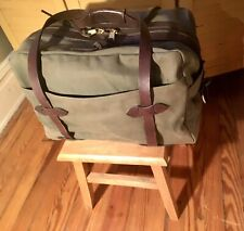 FILSON MEDIUM RUGGED TWILL TRAVEL BAG -OTTER GREEN