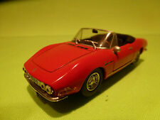 PRC FIAT DINO SPIDER 2400 1969 - RED 1:43 - RARE SELTEN - EXCELLENT