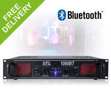 SPL-1000BT Two Channel Power Amplifier Bluetooth Amp Hi-Fi Home DJ Party 1000W