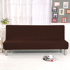 Elastic Sofa Bed Stretch Seater Cover Lounge Protector Couch Slipcover Novelty 170-210cm Grey