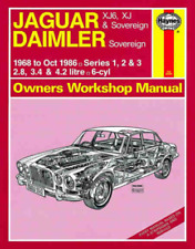 Haynes Workshop Manual Jaguar Daimler 1968-1986 XJ6 XJ Sovereign Service Repair