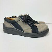 Birkenstock Footprints Women's Size EU 39 US 8-8.5 Suede Oxford Comfort Shoes