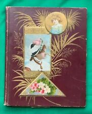 late 1880s /early 1890s Victorian Scrap Album Trade Cards
