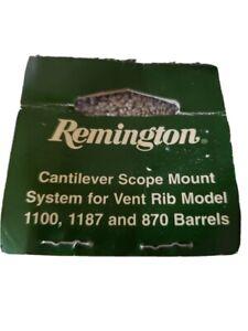 Remington Scope Barrel Mount Cantilever