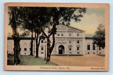 Ottawa, Ontario, Canada - EARLY 1900s HANDCOLORED POSTCARD - GOVERNMENT HOUSE